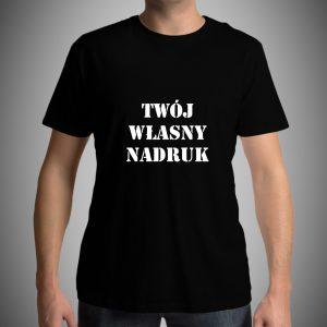 Koszulka z własnym nadrukiem